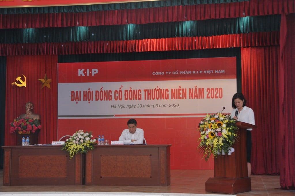 K.I.P Việt Nam tổ chức thành công Đại hội đồng cổ đông thường niên năm 2020