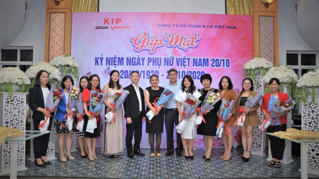 K.I.P gặp mặt chào mừng ngày Phụ nữ Việt Nam 20/10